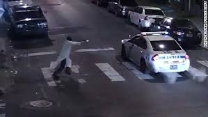 Philly, cop shot
