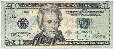 Jackson-$20 bill