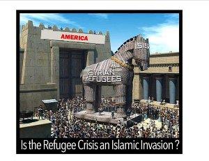 Refugees - Trojan horse.