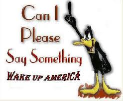 Wake up America Daffy duck