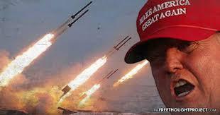 Trump - tomahawk millile strike on Syria