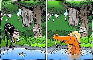 Drain the swamp Trump